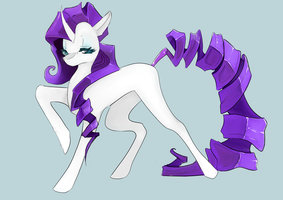 Rarity is pretty fabulos by RiiPause