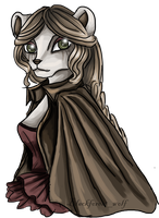 Neopets: Sorrowful Portrait IV by Blesses