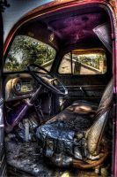 Old Firetruck Interior HDR by joelht74