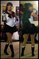 Cosplay - Sailor Pluto progress by SailorAnime