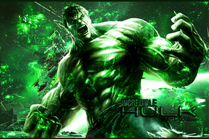 The Incredible HULK by iSOHAIL
