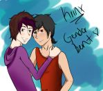 Minx and Krism GenderBend by FancyAsianHipster412