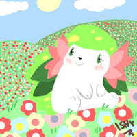 Shaymin Request by Ishisu