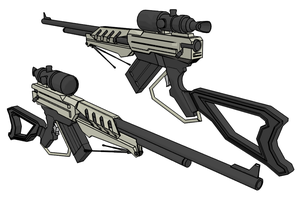 Sniper Rifle by Jholliday