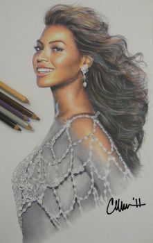 Beyonce Drawing by Live4ArtInLA