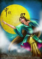 Happy mooncake festival by chuaenghan