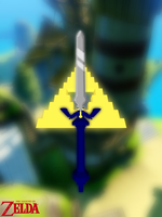 The Master Sword by Arcedion