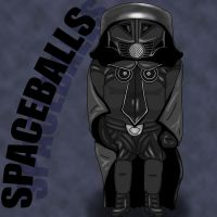 Spaceballs Dark Helmet by Flui