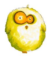 Puff, the Owl by mallikinney