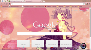 anime theme google chrome by alechivis