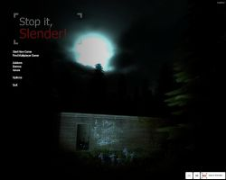 Stop it, Slender by shevakitty