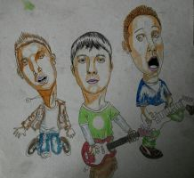 old painting GREEN DAY by adamyayad