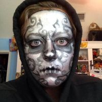 Death Eater Makeup by Wolflover29