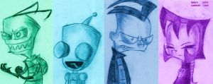 Invader ZIM by ScoBionicle99