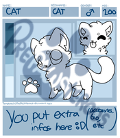 :Pay to Use Cat Reference Sheet Template: by PrePAWSterous