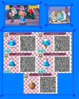Animal Crossing New Leaf Kiruminzuu QR Code 3 by SuperAngel502