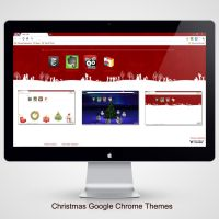 Christmas Chrome Themes by iDR3AM