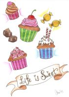 MuffinSweets Mania by BloodyBlackPearl