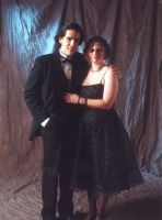 Rachelle and Me at prom 1 by moonandsun
