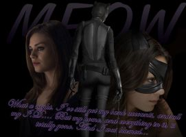 Mila Kunis as Catwoman by abask5