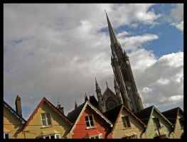 Cobh Cathedral by namishion