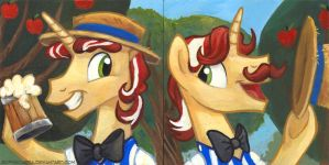 Square Series - Flim and Flam by sophiecabra