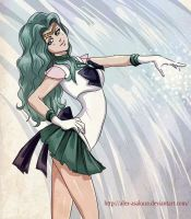 Sailor Neptune by Alex-Asakura