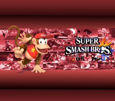 Diddy Kong Wallpaper by CrossoverGamer