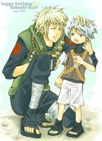 happy birthday kakashi-kun by saucywench
