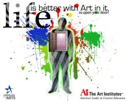 Life is Better with Art in it by Mecha-Designer-Kite