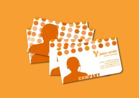 call center businesscard by chuletz