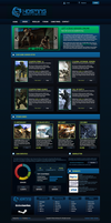 Esport Game Hosting template - FOR SALE by dj-hacker