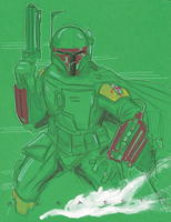 Boba Fett 40 by Hodges-Art