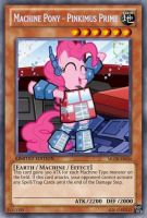 Pinkimus Prime (MLP): Yu-Gi-Oh! Card by PopPixieRex