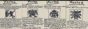 Finnish Wanted Posters - Demon Lords by Cenadramon