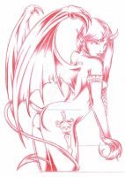 Succubus by BabiesOnAHalfTip