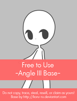 Free to Use Base {Angle III} by Koru-ru