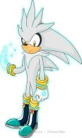 Silver the Hedgehog - Old by DreamBex