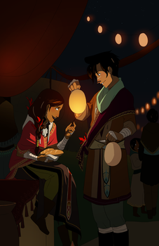 The Lantern Festival by hyperionwitch