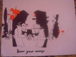 Green Day 'Know Your Enemy' by jonaslvr1