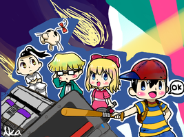 Earthbound tribute by akafyre