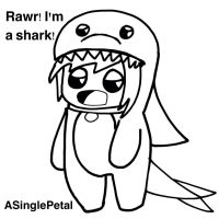 .: Vic Puppy the Shark :. by ASinglePetal