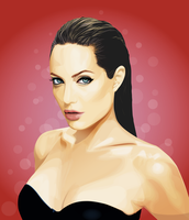 Angelina Jolie by nellies