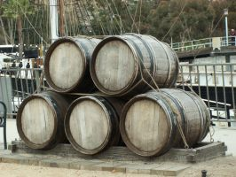 Barrels by AilinStock