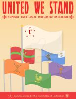 United We Stand - Propaganda by Mihaii