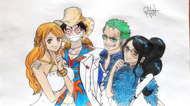 Onepiecemovie explore onepiecemovie on deviantart - One piece luffy x robin ...