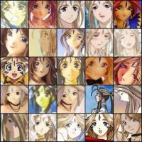 Belldandy Avi Collection 1 by AnaStamps