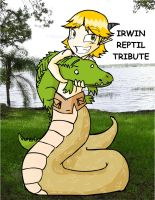 IRWIN REPTIL TRIBUTE by Almiux19