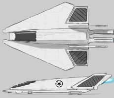 Star Wars Imperial Shuttle by AdamKop