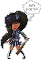 [Commission] Kaorii Chibi by banANNUmon